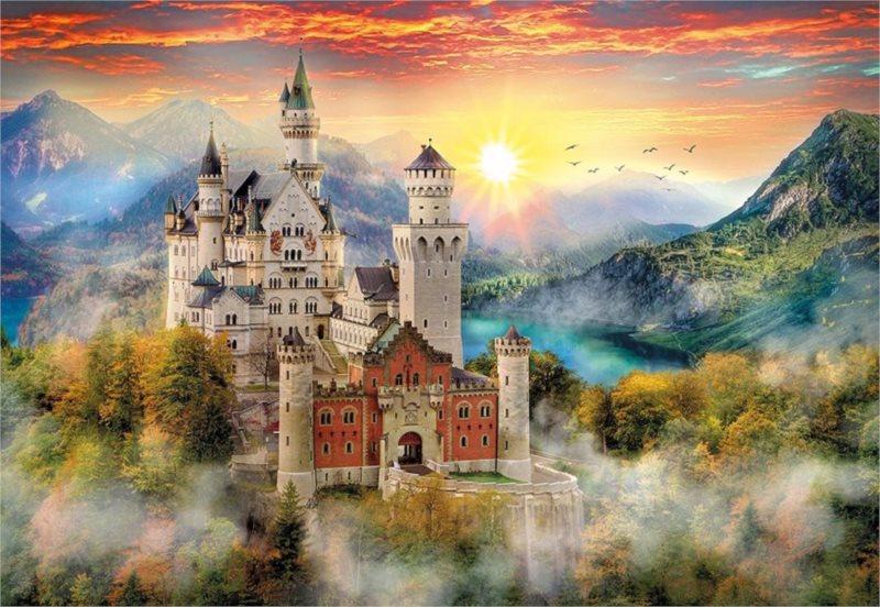 CLEMENTONI Puzzle Zámek Neuschwanstein 2000 dílků