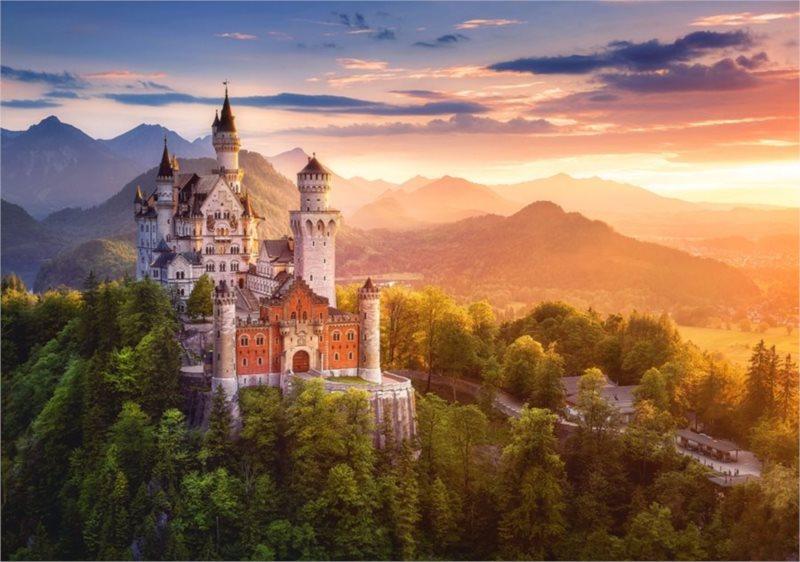 CASTORLAND Puzzle Zámek Neuschwanstein 500 dílků