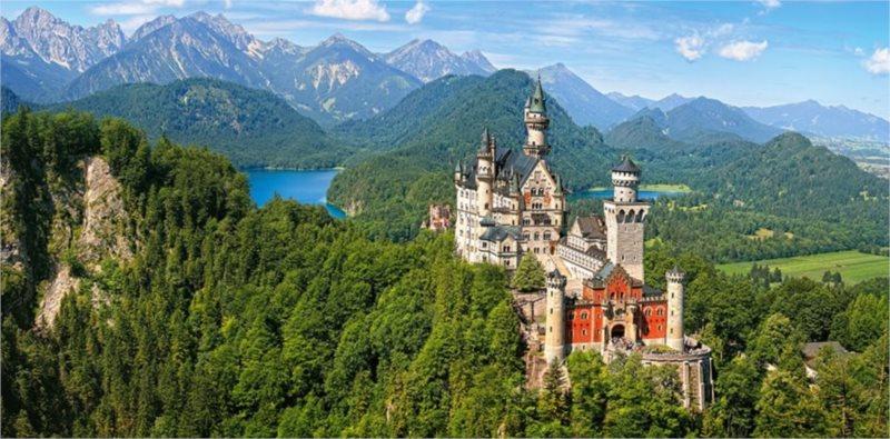 CASTORLAND Puzzle Zámek Neuschwanstein, Německo 4000 dílků