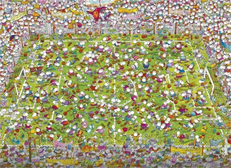 CLEMENTONI Puzzle Zápas 1000 dílků