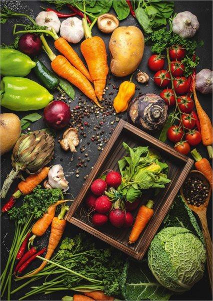 SCHMIDT Puzzle Zdravá zelenina 1000 dílků