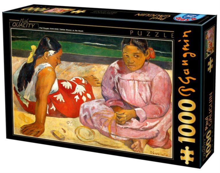 Puzzle D-TOYS 72818 P. Gauguin: Ženy na pláži 1000 dílků