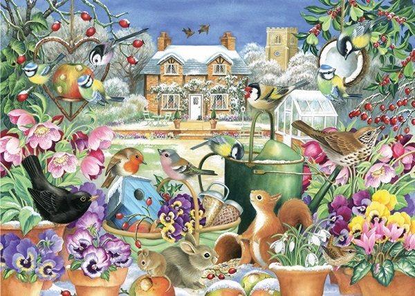 FALCON , JUMBO Puzzle Zimní zahrada 1000 dílků