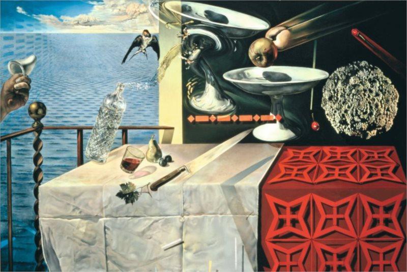 Puzzle RAVENSBURGER 300 dílků - Živé zátiší, Dalí
