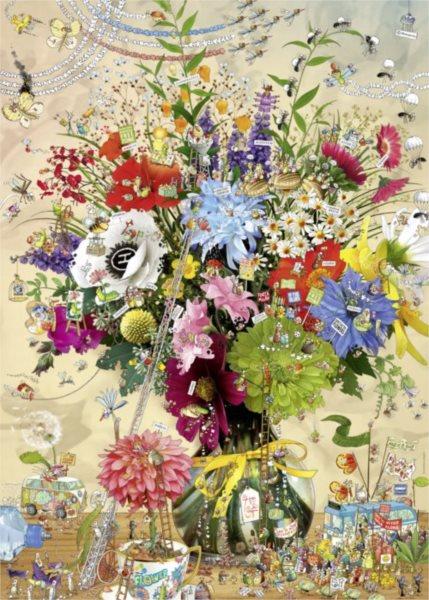 HEYE Puzzle Život květin 1000 dílků