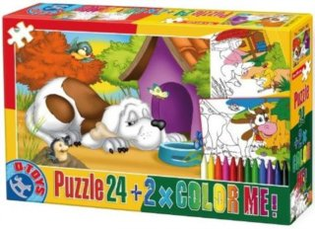 D-TOYS Puzzle Zvířátka 2 (24 dílků)