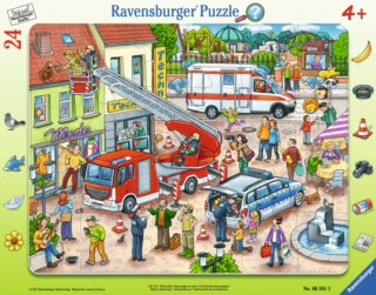 RAVENSBURGER Puzzle Záchrana zvířátek 24 dílků