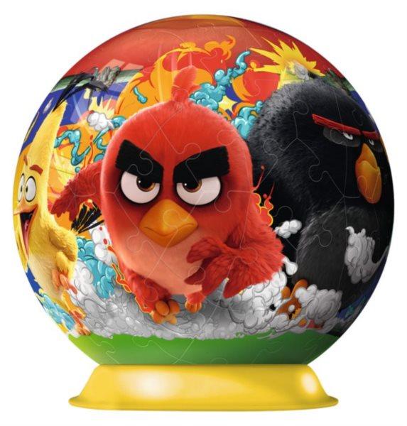 RAVENSBURGER Puzzleball Angry Birds 72 dílků