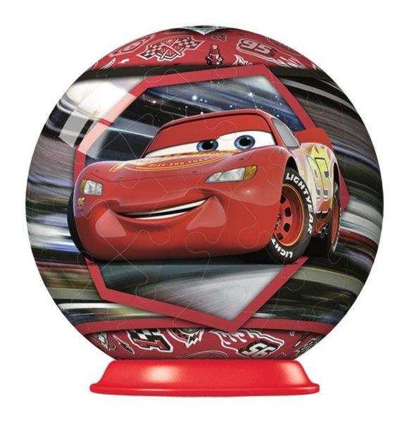 RAVENSBURGER Puzzleball Auta 3: Blesk McQueen 54 dílků