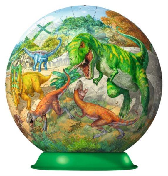 RAVENSBURGER Puzzleball Dinosauři 108 dílků