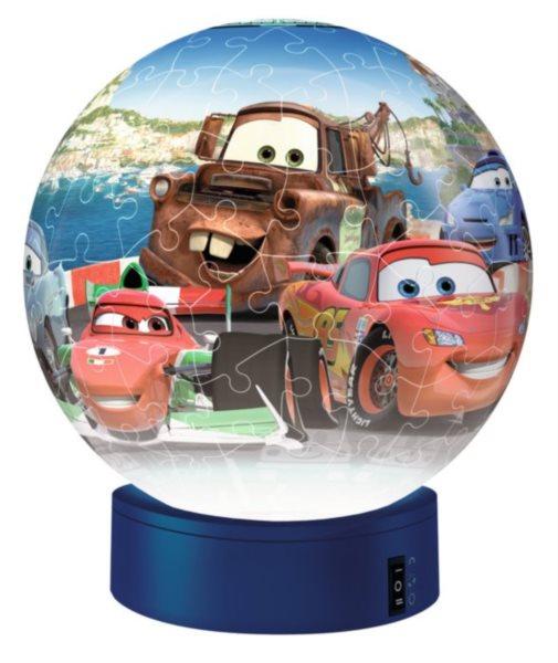 RAVENSBURGER Svítící puzzleball Auta 108 dílků
