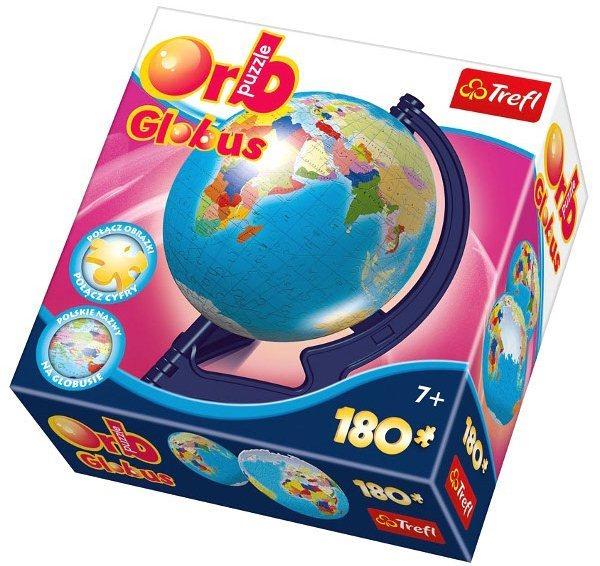 TREFL Puzzleball Globus, politická mapa 180 dílků