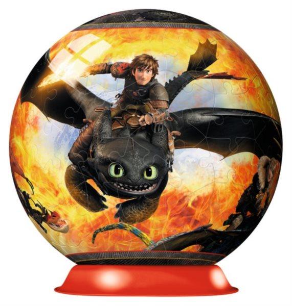 Puzzleball RAVENSBURGER 12262 Jak vycvičit draka 108 dílků