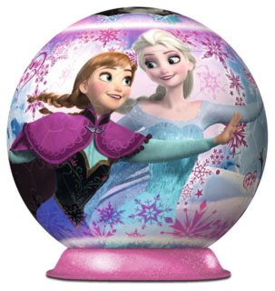 RAVENSBURGER Puzzleball Ledové království: Anna a Elsa 72 dílků
