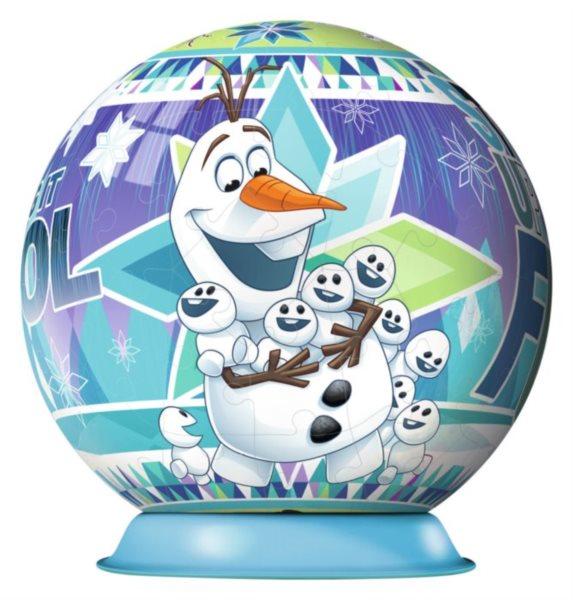 RAVENSBURGER Puzzleball Olaf 72 dílků