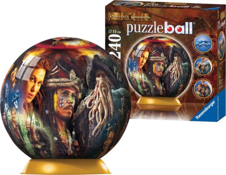 Puzzleball RAVENSBURGER 240 dílků - Piráti z Karibiku