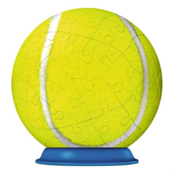 3D Puzzleball RAVENSBURGER 54 dílků - Tenisový míček 04