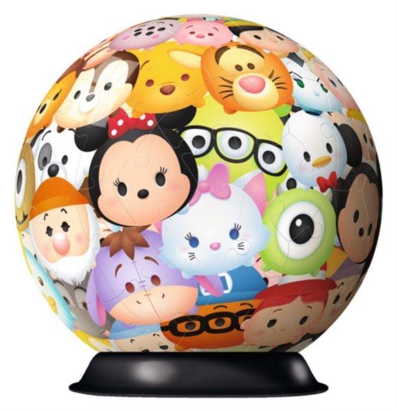 RAVENSBURGER Puzzleball Tsum Tsum 72 dílků