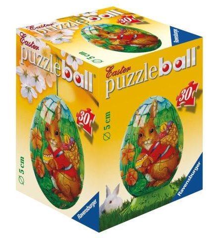 Puzzleball RAVENSBURGER 30 dílků - Velikonoční vejce: Zajíc