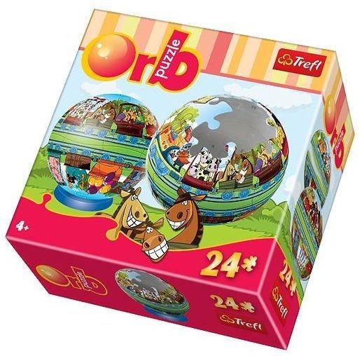 TREFL Puzzleball Veselý vláček 24 dílků