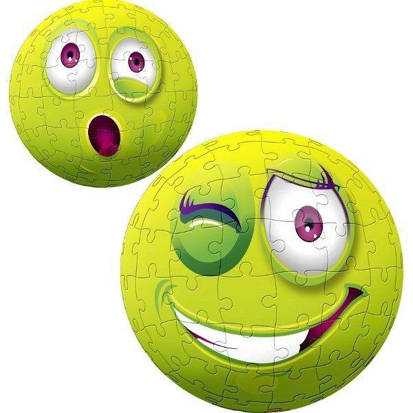 TREFL Puzzleball Zelený obličej 96 dílků