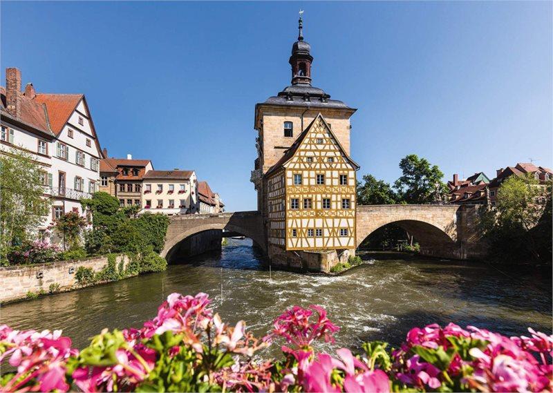 SCHMIDT Puzzle Bamberg, Regnitz a stará radnice 1000 dílků