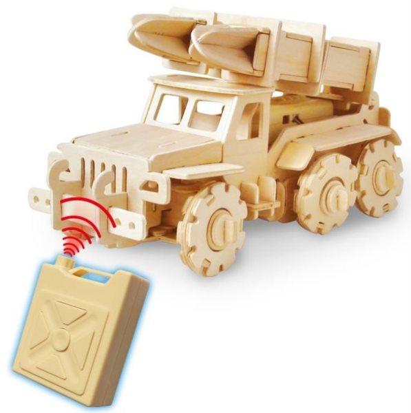 ROBOTIME 3D puzzle Raketový nosič RC