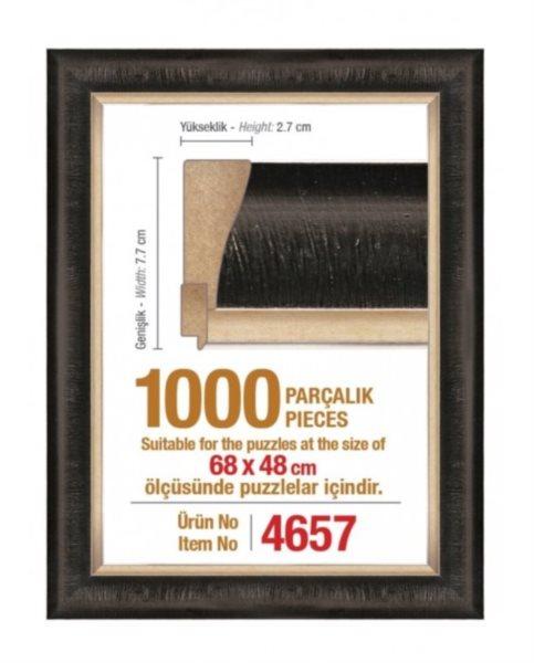 ART PUZZLE Rám 4657 na puzzle 68x48cm