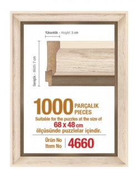 ART PUZZLE Rám 4660 na puzzle 68x48cm
