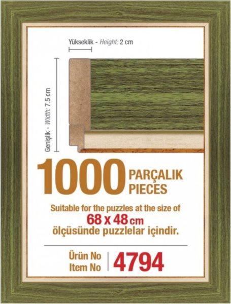ART PUZZLE Rám 4794 na puzzle 68x48cm