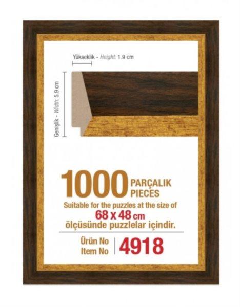 ART PUZZLE Rám 4918 na puzzle 68x48cm