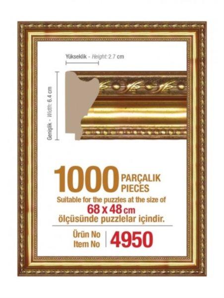 ART PUZZLE Rám 4950 na puzzle 68x48cm