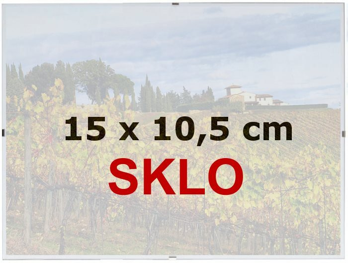BFHM Rám Euroclip 15x10,5cm (sklo)
