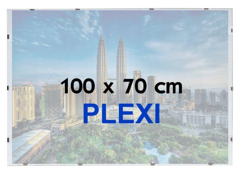 BFHM Rám na puzzle Euroclip 100x70cm (plexisklo)