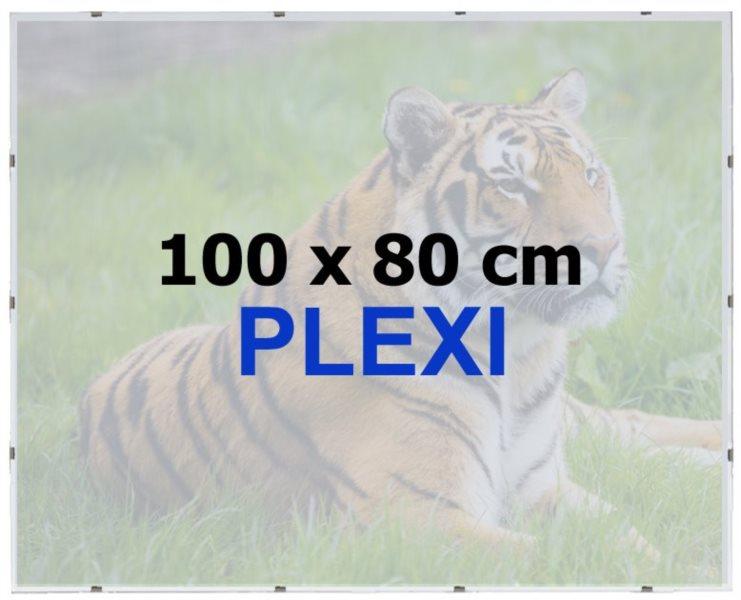 BFHM Rám na puzzle Euroclip 100x80cm (plexisklo)