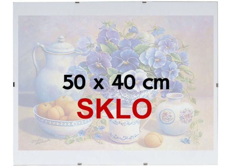 BFHM Rám na puzzle Euroclip 50x40cm (sklo)