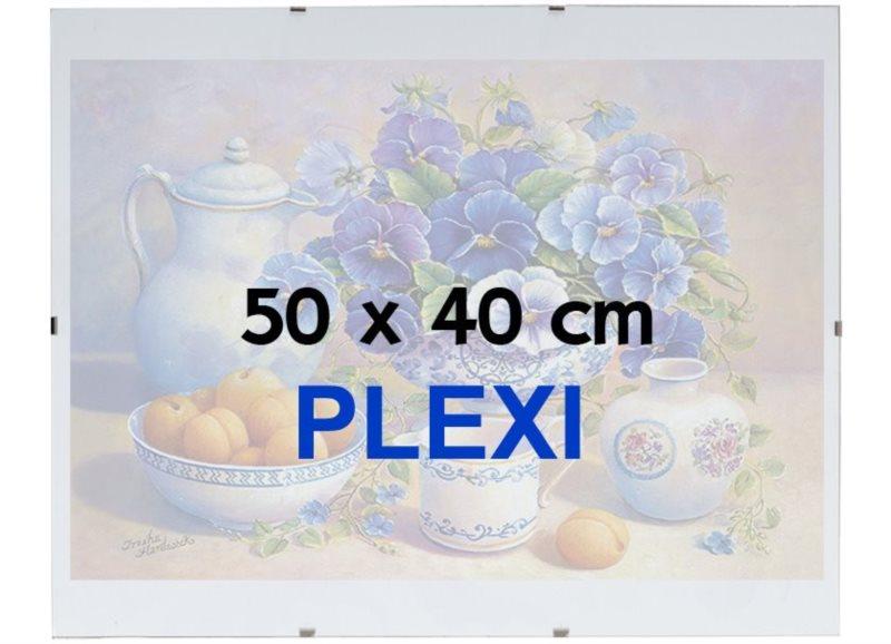 BFHM Rám na puzzle Euroclip 50x40cm (plexisklo)