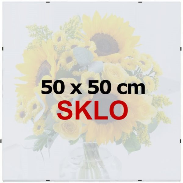 BFHM Rám na puzzle Euroclip 50x50cm (sklo)