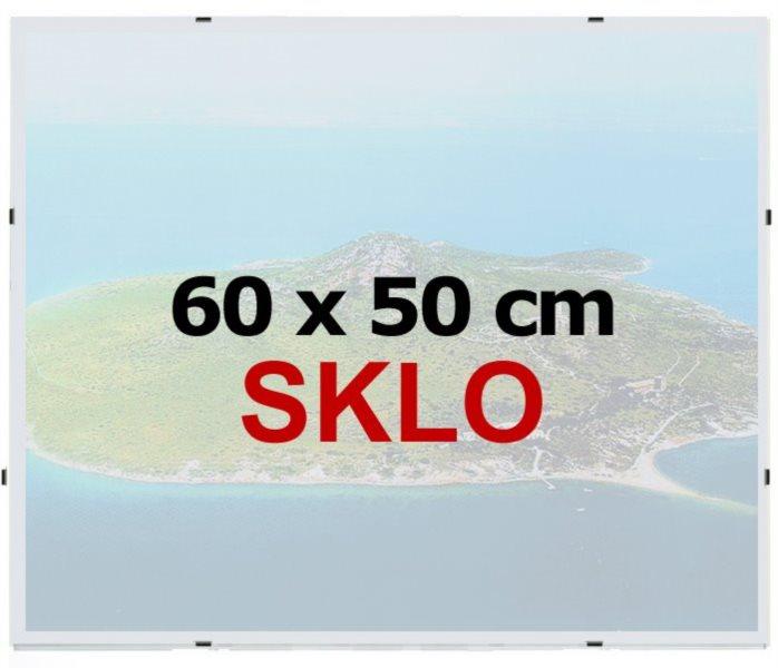 BFHM Rám na puzzle Euroclip 60x50cm (sklo)