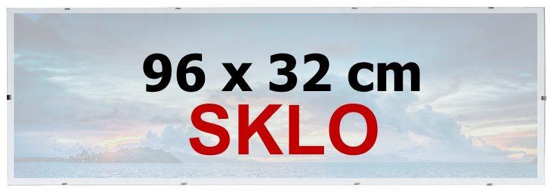 BFHM Rám na puzzle Euroclip 96x32cm (sklo)