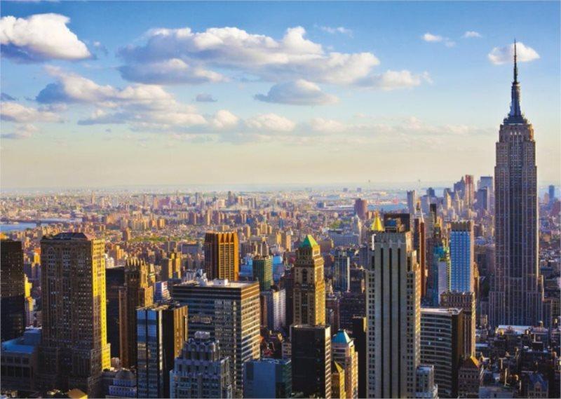 Puzzle RAVENSBURGER 1000 dílků - Ráno v Manhattanu