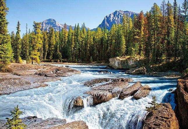CASTORLAND Puzzle Řeka Athabasca, Národní park Jasper 1500 dílků