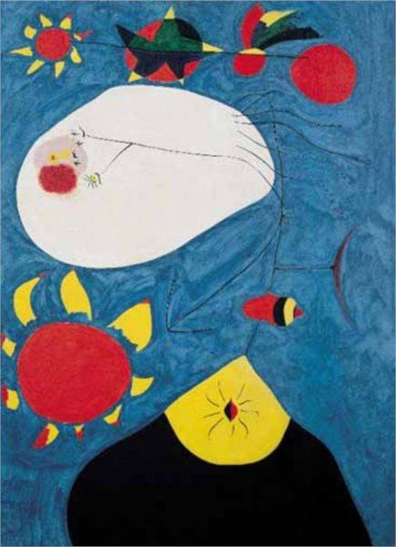 Puzzle EDITIONS RICORDI 1000 dílků - J.Miró, Retrat IV.