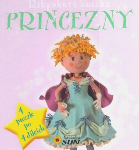 Nakladatelství SUN Kniha s puzzle: Princezny