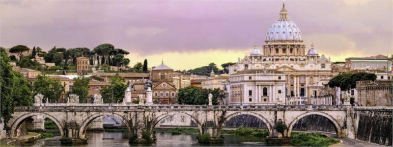 Puzzle RAVENSBURGER 1000 dílků - Řím