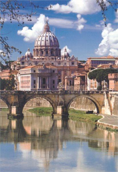 CLEMENTONI Puzzle Řím, Itálie 500 dílků