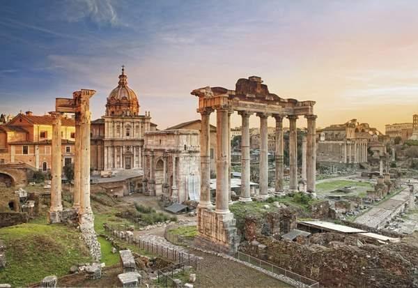 CLEMENTONI Puzzle Římské fórum 2000 dílků