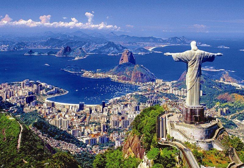 CASTORLAND Puzzle Rio de Janeiro 1000 dílků