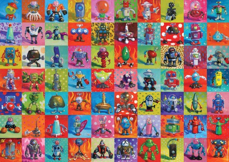 HEYE Puzzle Roboti 2000 dílků