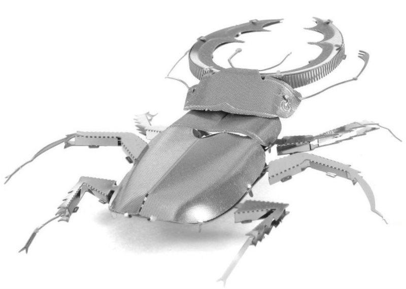 3D kovové puzzle METAL EARTH Roháč obecný